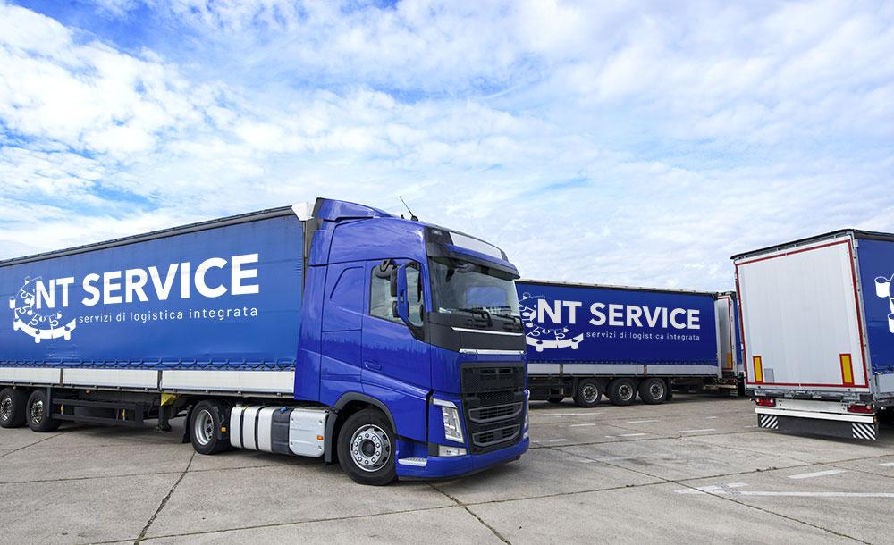 Magazzino conto terzi -NT Service trasporto e magazzino i nostri camion